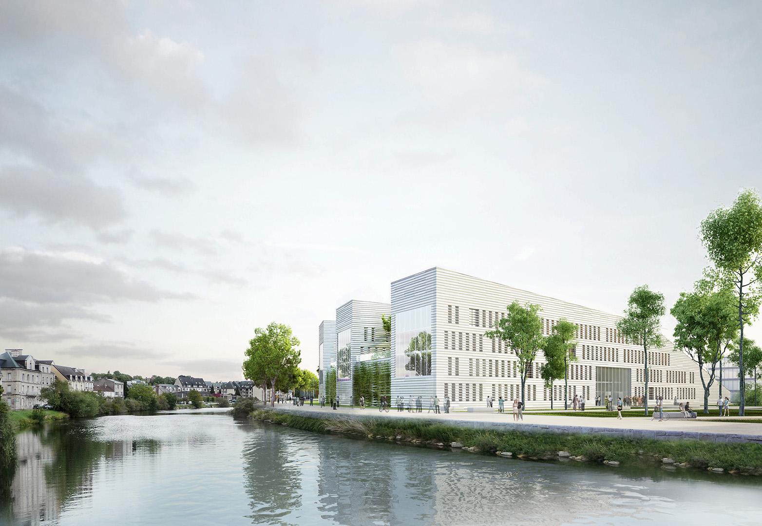 ANMA Caen Palais de Justice