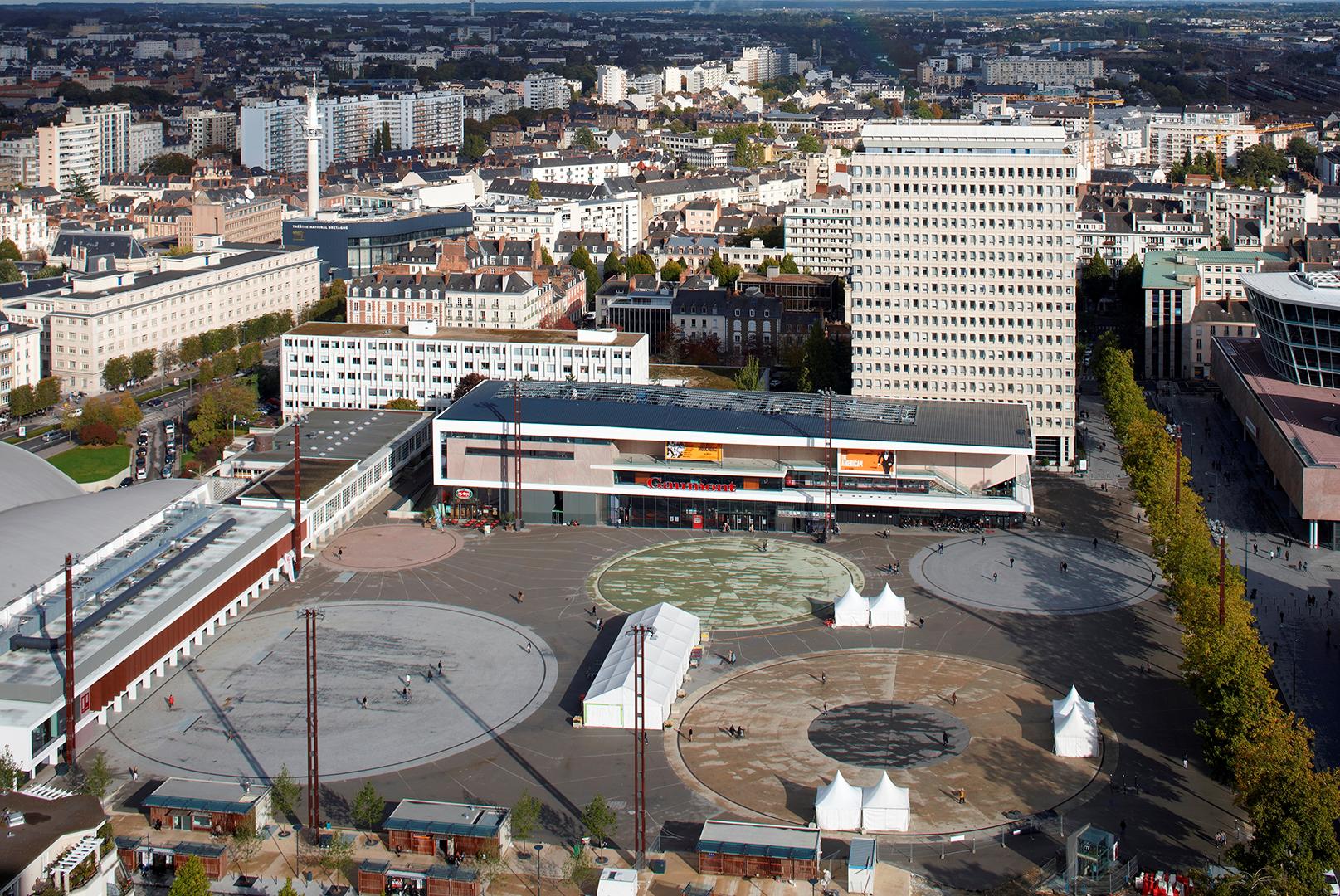 ANMA Rennes Esplanade Charles-de-Gaulle
