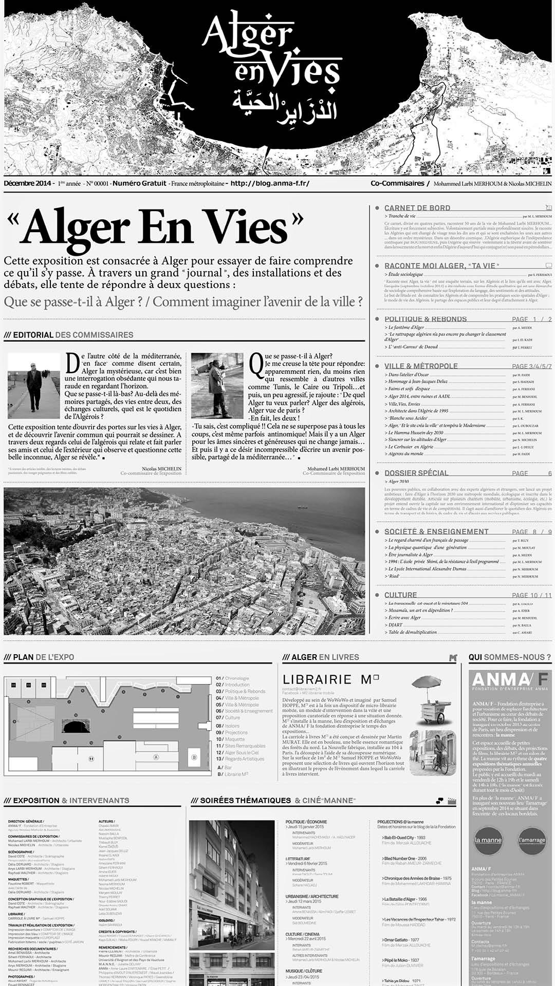 ANMA Paris Alger en Vies