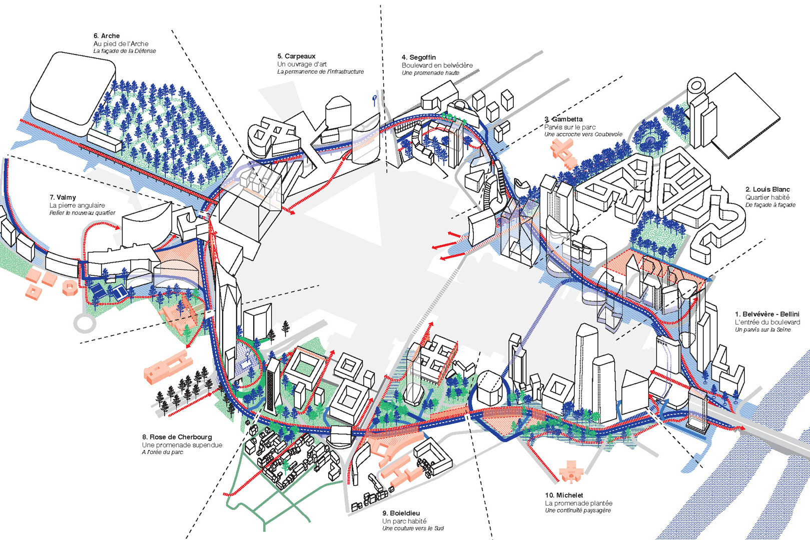ANMA La Défense Boulevard Circulaire